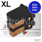 Francotyp-Postalia ink cartridge set XL 42 ml blue for PostBase 30, 45, 65 franking machine